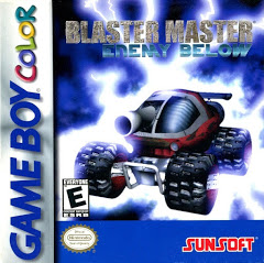 GBC: BLASTER MASTER: ENEMY BELOW (GAME) (WORN LABEL)