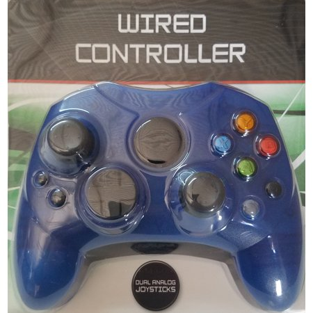 XBX: CONTROLLER - WIRED - GENERIC - BLUE (NEW)