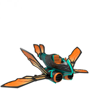 FIG: SUPERCHARGERS - BUZZ WING - SKYLANDERS (USED)