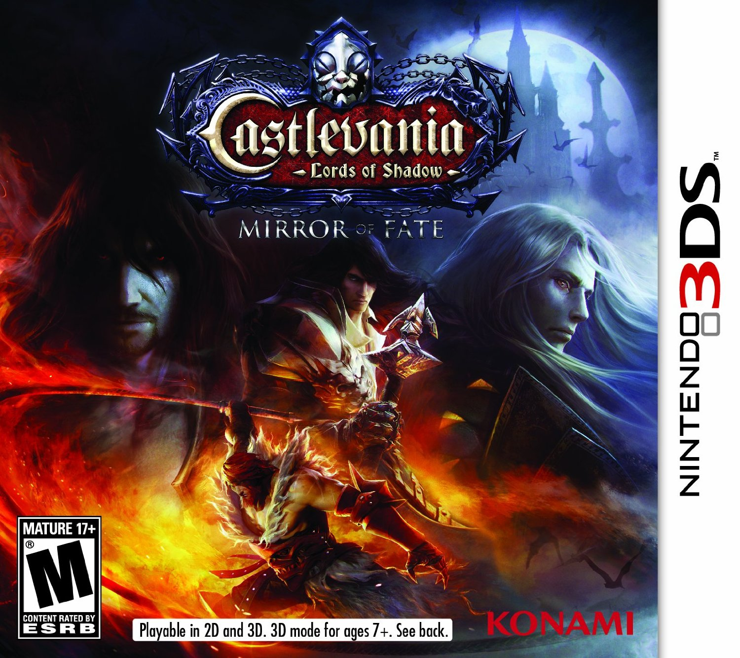 3DS: CASTLEVANIA: LORDS OF SHADOW: MIRROR OF FATE (NM) (GAME)