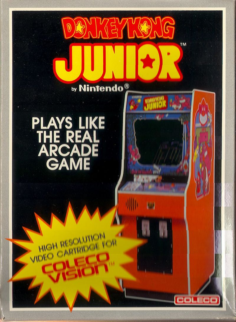 COL: DONKEY KONG JUNIOR (GAME)