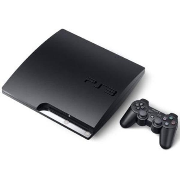 PS3: CONSOLE - MODEL CECH-2001A - SLIM - 120GB 1CTRL; HOOKUPS (USED)