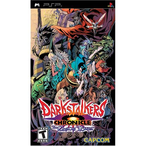 PSP: DARKSTALKERS CHRONICLE: THE CHAOS TOWER (COMPLETE)