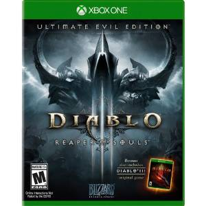 XB1: DIABLO III ULTIMATE EVIL EDITION: REAPER OF SOULS (NM) (COMPLETE)