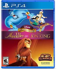 PS4: DISNEY CLASSIC GAMES: ALADDIN AND THE LION KING (NM) (COMPLETE)