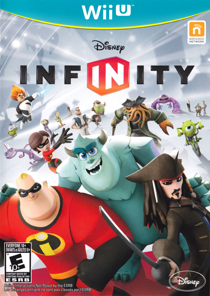 WIIU: DISNEY INFINITY (SOFTWARE ONLY) (GAME)