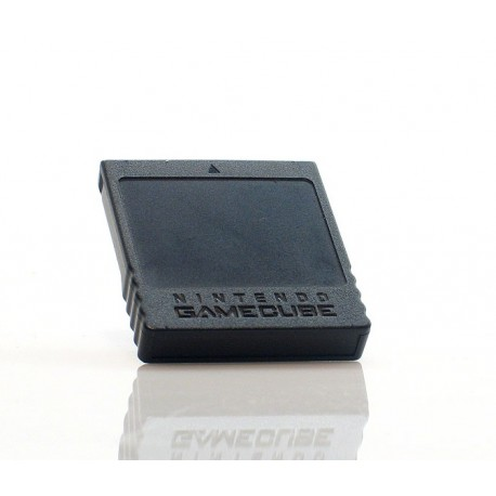 GC: MEMORY CARD - NINTENDO - DOL-014 - 251 BLOCKS (USED)