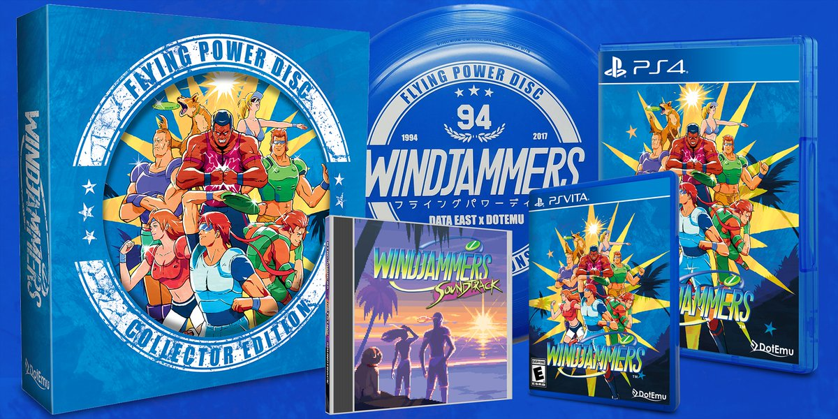 PSV: WINDJAMMERS COLLECTOR EDITION (NEW)