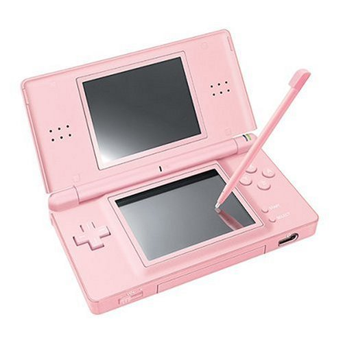 NDS: CONSOLE - DS LITE - ICE BLUE - INCL: CHARGER; STYLUS (USED)