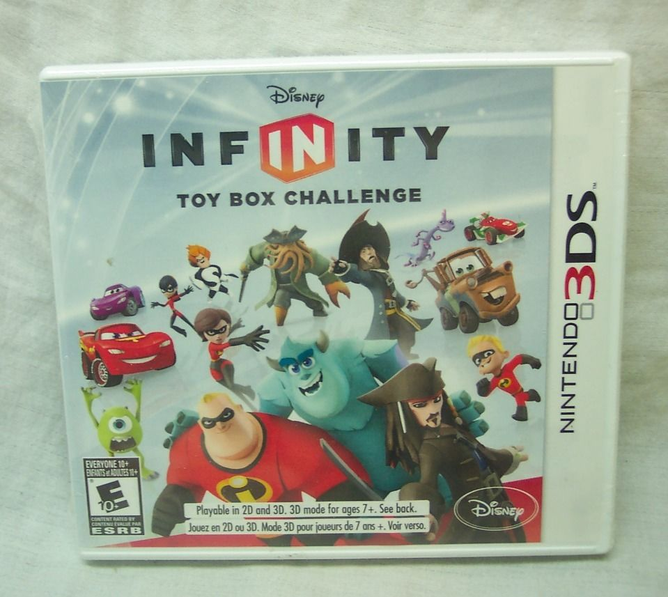 3DS: DISNEY INFINITY: TOY BOX CHALLENGE (SOFTWARE ONLY) (GAME)