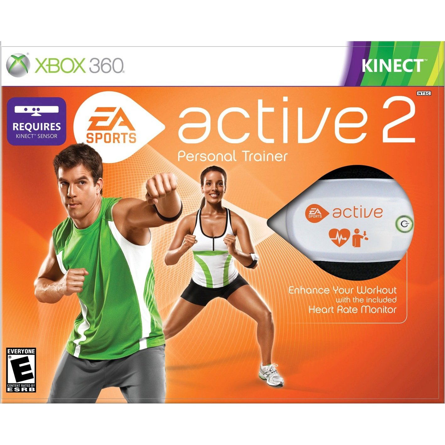 360: ACTIVE 2 (KINECT) (SOFTWARE ONLY) (COMPLETE)