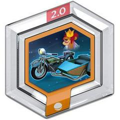 FIG: DISNEY INFINITY 2.0 ORIGINALS WAVE POWER DISC: EGLANTINES MOTORCYCLE (USED)