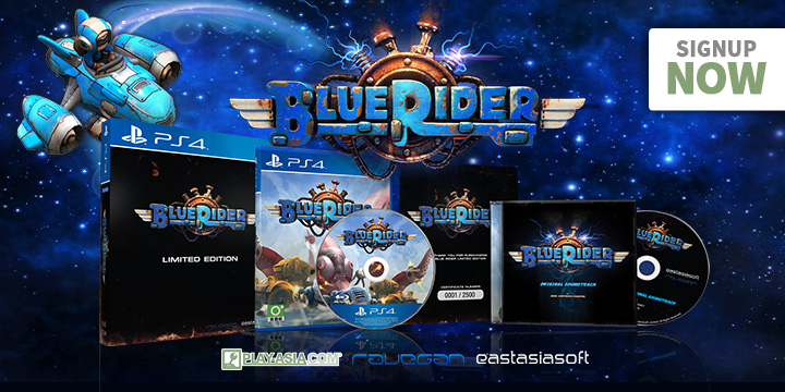 PS4: BLUE RIDER LIMITED EDITION (COMPLETE)