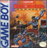 GB: BIONIC COMMANDO (GAME)