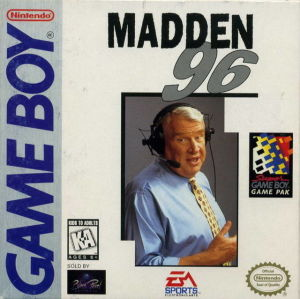 GB: MADDEN 1996 (POOR LABEL) (GAME)