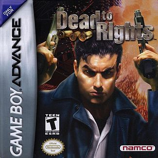GBA: DEAD TO RIGHTS (GAME)