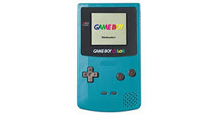 GBC: CONSOLE - GAMEBOY COLOR - TEAL (W/ COVER) (USED)