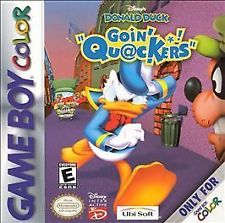 GBC: DONALD DUCK: GOIN QUACKERS (DISNEY) (GAME)