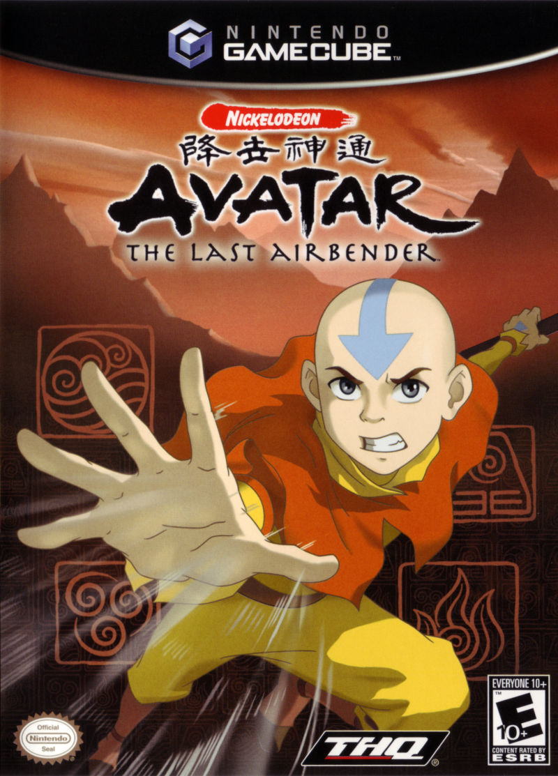 GC: AVATAR THE LAST AIRBENDER (NICKELODEON) (COMPLETE)