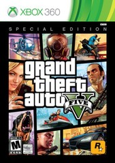 360: GRAND THEFT AUTO V SPECIAL EDITION (2 DISC) (STEELCASE) (COMPLETE)