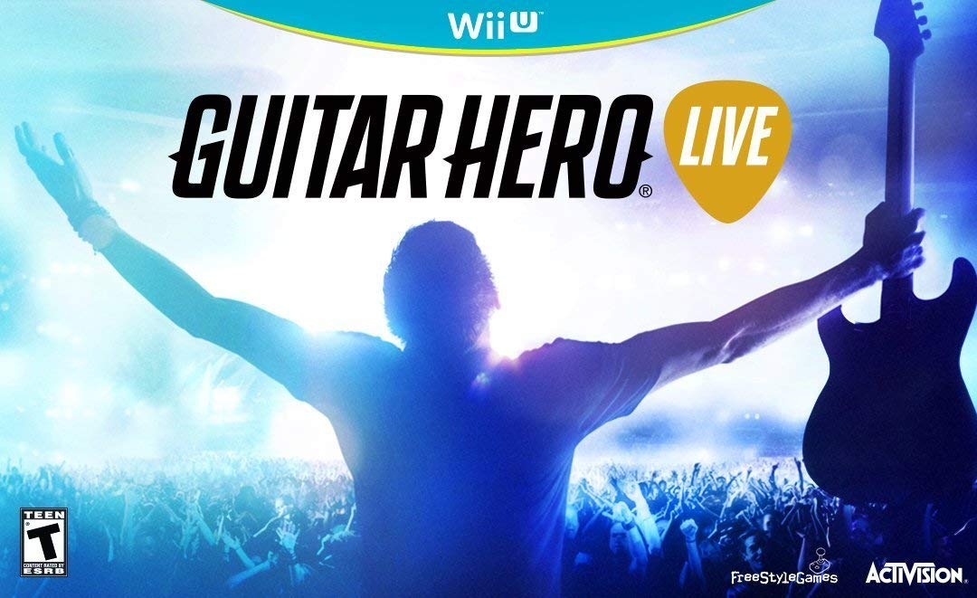 WIIU: GUITAR HERO LIVE - SOFTWARE ONLY (COMPLETE)