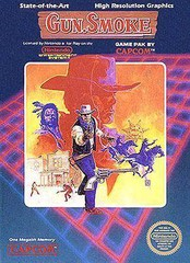 NES: GUN SMOKE (GAME)