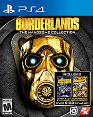 PS4: BORDERLANDS: HANDSOME COLLECTION (COMPLETE)