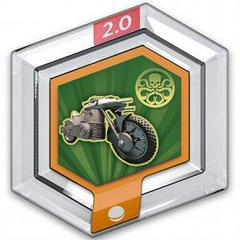 FIG: DISNEY INFINITY 2.0 POWER DISC: HYDRA MOTORCYCLE (USED)
