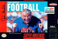 SNES: JOHN MADDEN FOOTBALL (GAME)