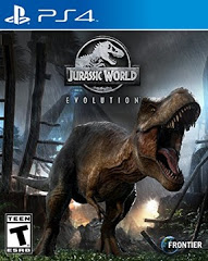 PS4: JURASSIC WORLD EVOLUTION (NM) (COMPLETE)