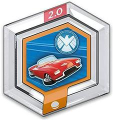 FIG: DISNEY INFINITY 2.0 MARVEL POWER DISC: LOLA (USED)