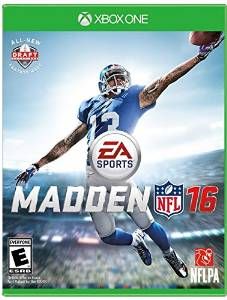 XB1: MADDEN NFL 16 (NM) (COMPLETE)