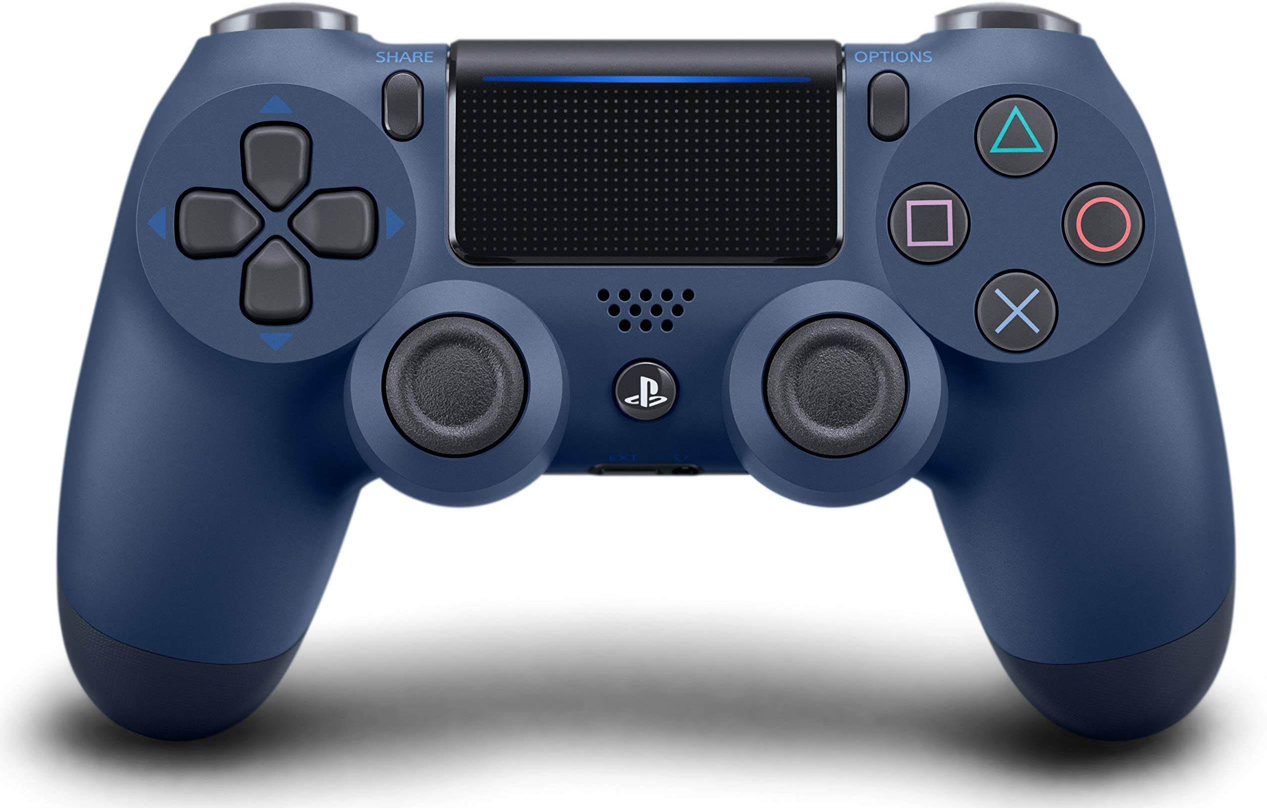 PS4: CONTROLLER - SONY - MIDNIGHT BLUE - WIRELESS (NEW)