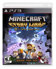 PS3: MINECRAFT STORY MODE (NM) (BOX)