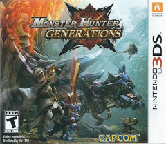 3DS: MONSTER HUNTER GENERATIONS (COMPLETE)