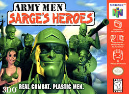 N64: ARMY MEN: SARGES HEROES (GAME)