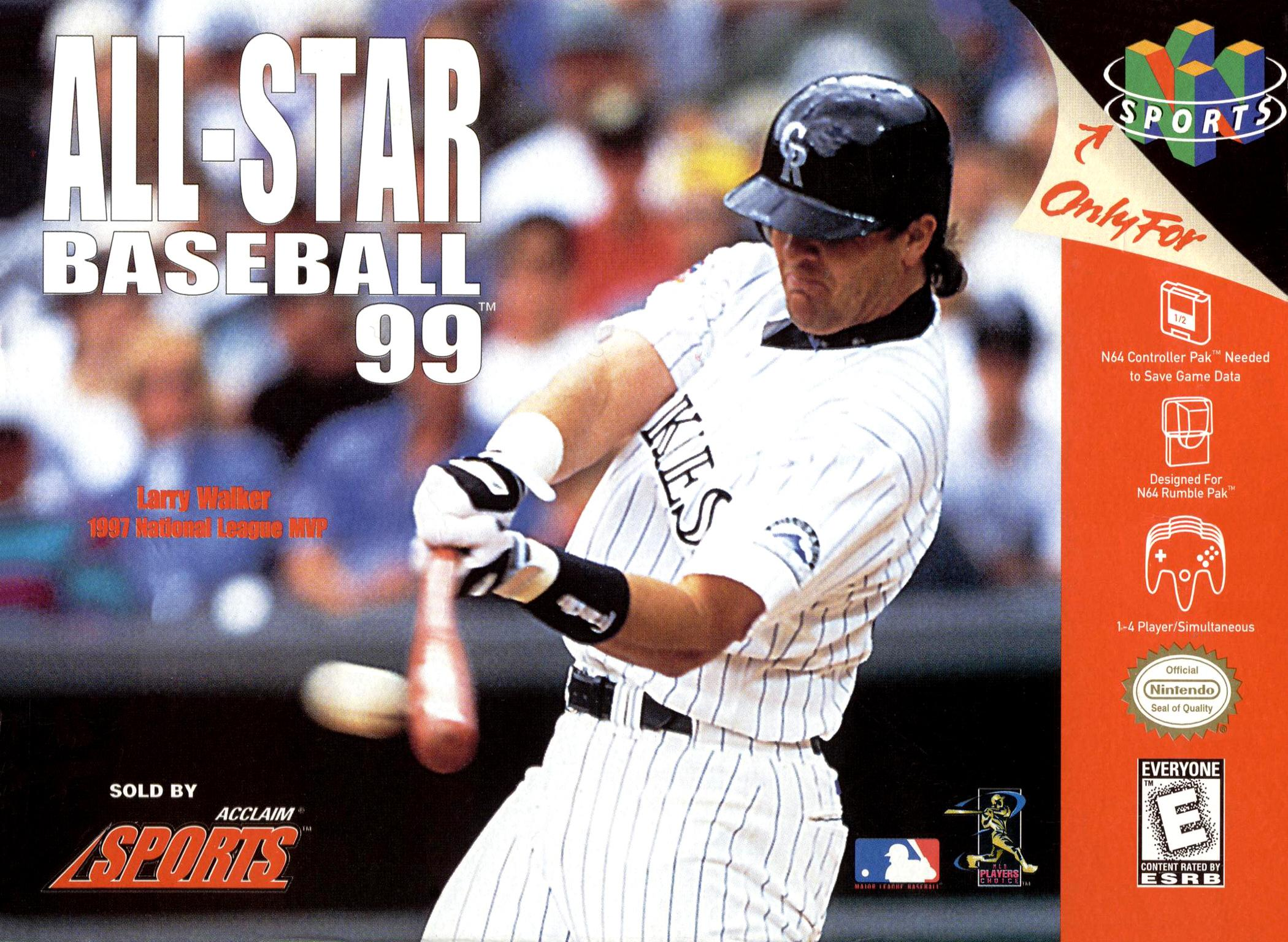 N64: ALL-STAR BASEBALL 99 (GAME)