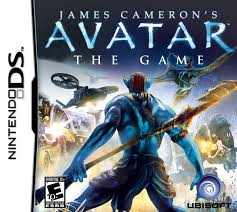 NDS: AVATAR THE GAME - JAMES CAMERON (COMPLETE)