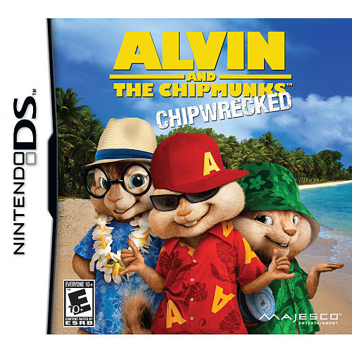NDS: ALVIN AND THE CHIPMUNKS CHIPWRECKED (GAME)
