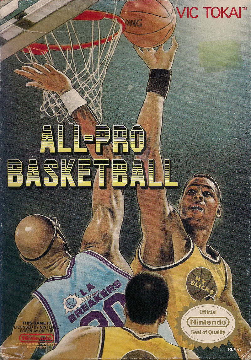 NES: ALL- PRO BASKETBALL (GAME)