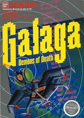 NES: GALAGA: DEMONS OF DEATH (GAME)