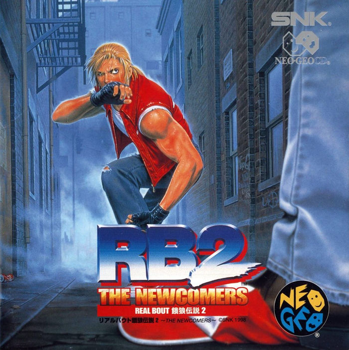 NGCD: REAL BOUT FATAL FURY 2 (JP) (COMPLETE)