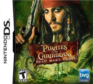NDS: PIRATES OF THE CARIBBEAN: DEAD MANS CHEST (GAME)