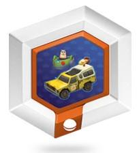 FIG: DISNEY INFINITY 1.0 SERIES 2 POWER DISC: PIZZA PLANET DELIVERY TRUCK