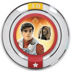 FIG: DISNEY INFINITY 3.0 STAR WARS POWER DISC: POES RESISTANCE JACKET (USED)