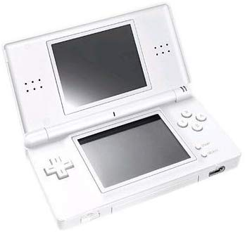 NDS: CONSOLE - DS LITE - POLAR WHITE - INCL: CHARGER; STYLUS (USED)