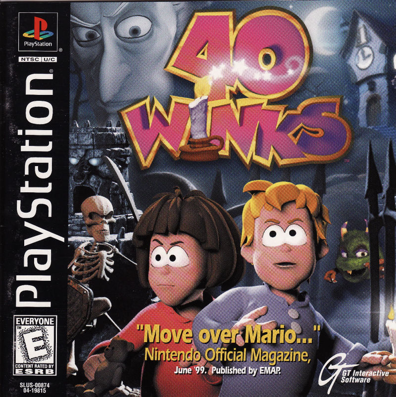 PS1: 40 WINKS (COMPLETE)