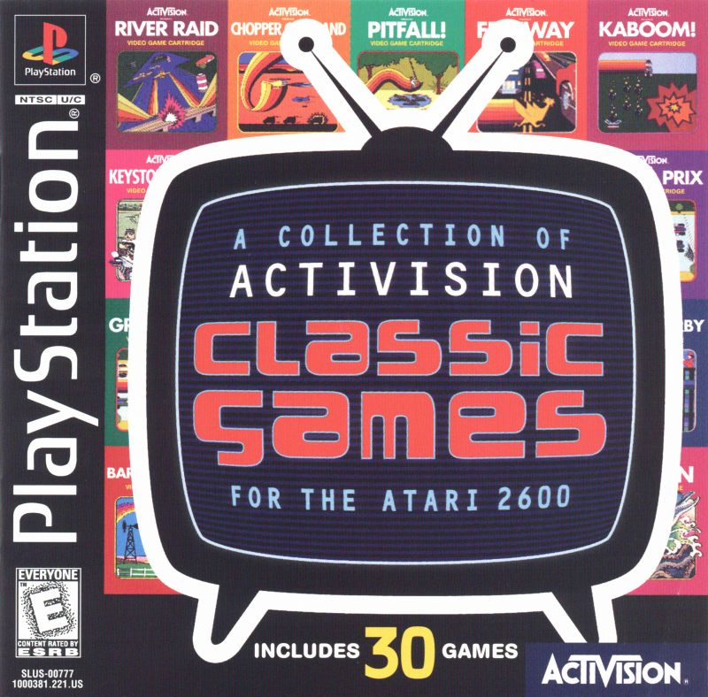 PS1: ACTIVISION CLASSIC GAMES; A COLLECTION OF (COMPLETE)