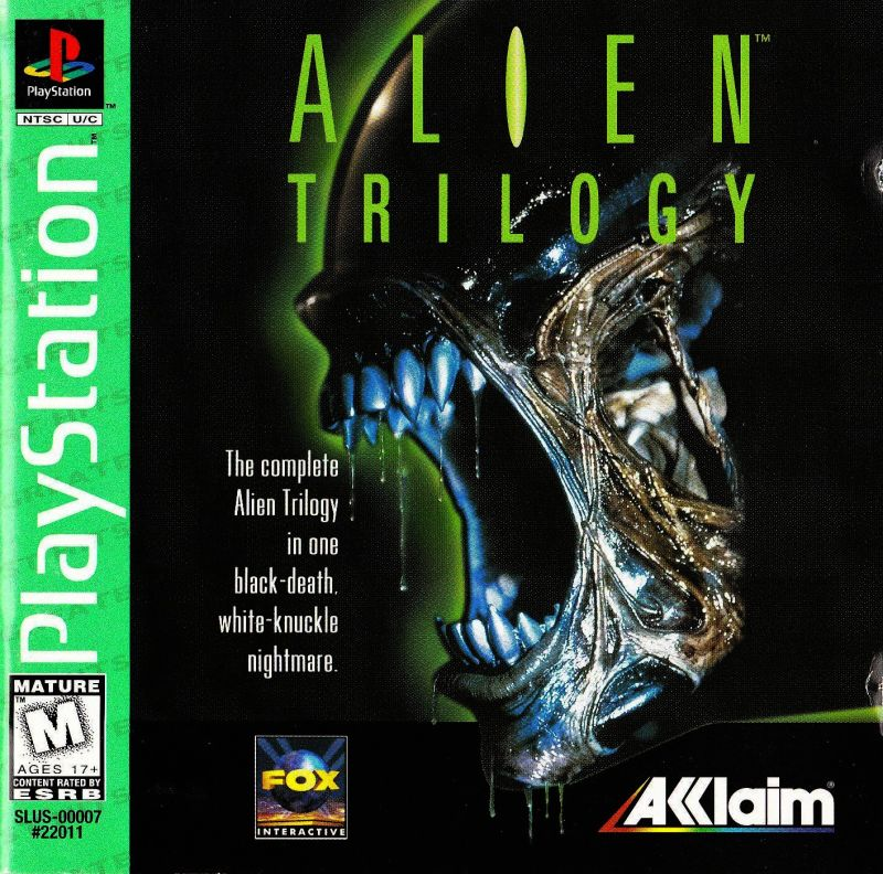 PS1: ALIEN TRILOGY (GAME)