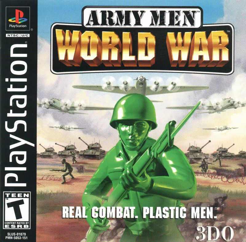 PS1: ARMY MEN WORLD WAR (COMPLETE)
